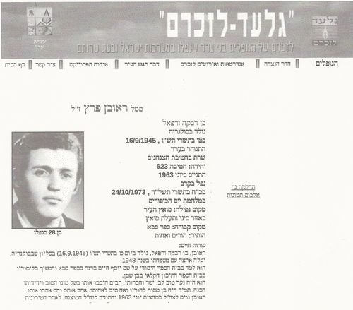 Reuven Peretz Biography