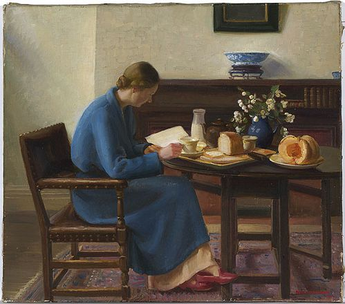 Nora Heysen London Breakfast 1935
