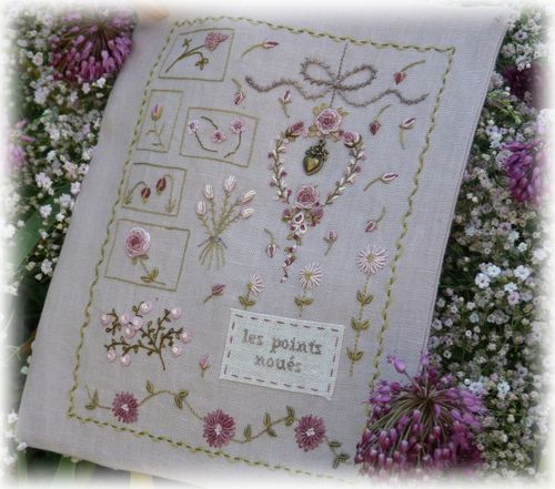 cahier broderie X 5 1