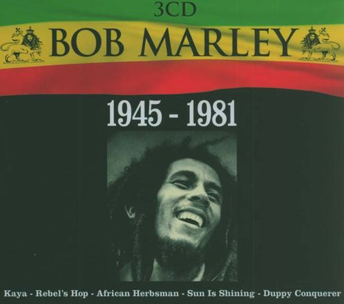 BOB-MARLEY Coffret-3CD