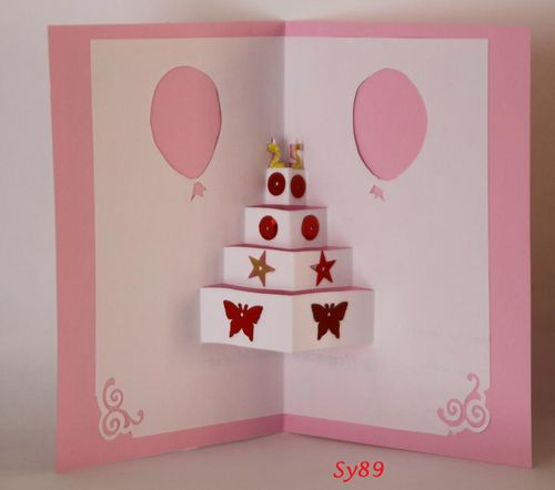 Sy89 Gateau d'anniv rose 25