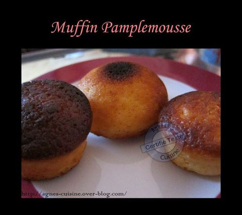 muffin pamplemousse