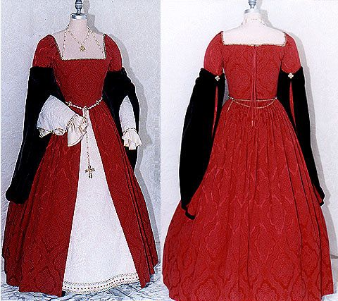 Grand salon - Page 3 Costume-tudor-1
