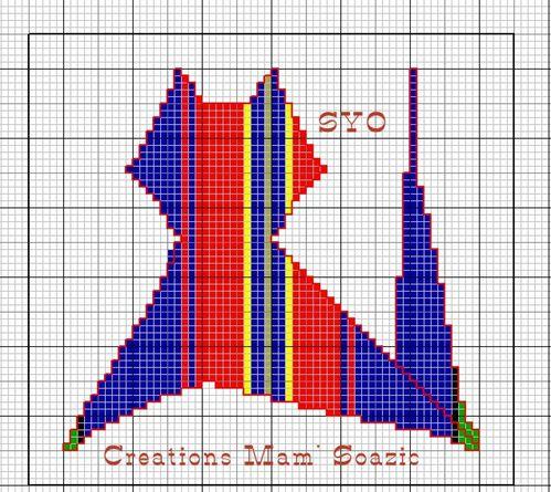 10-Katcoz Tartan1-1 lignes verticales