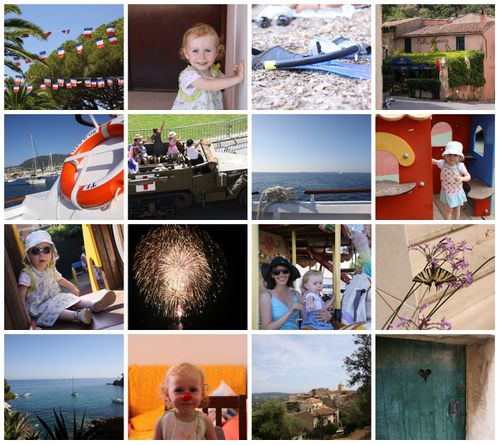 collage Cavalaire 2012