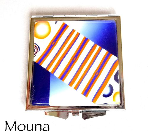 Miroir Bleu d'orange 2 DISPONIBLE: 20 euros.