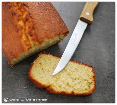 cake Amandes - Epices