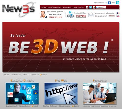 be leader be 3d web new3s herve heully
