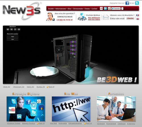 showroom 3d be leader be 3d web new3s