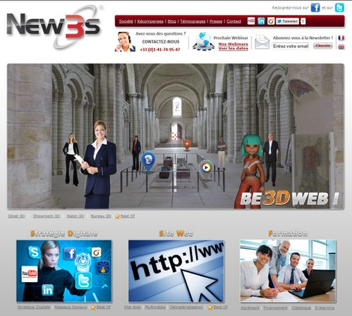 visite virtuelle be leader be 3d web new3s