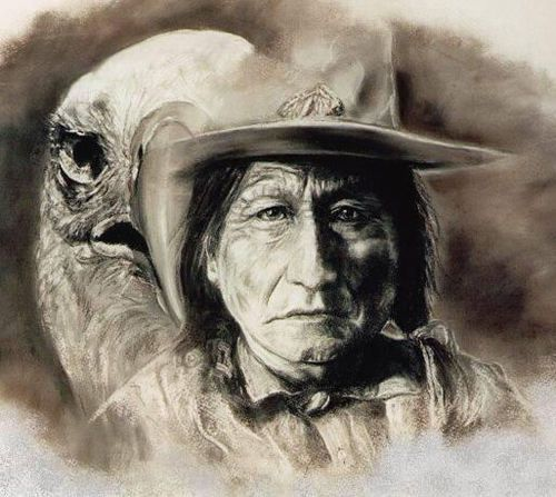 SITTING BULL AND EAGLE
