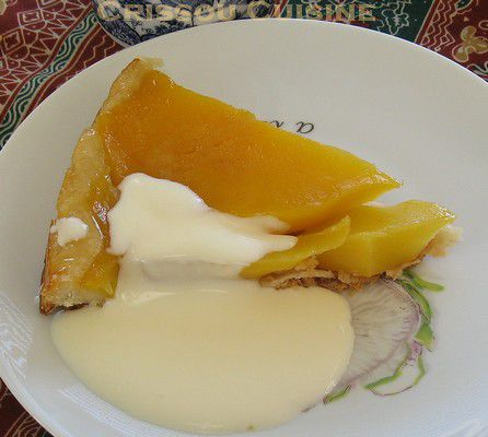 tarte tatin de mangue part