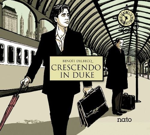 B. Delbecq - Crescendo in Duke, cover