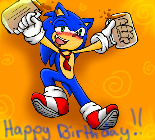 happy 21st birthday sonic by superblade9000-d54m5cp