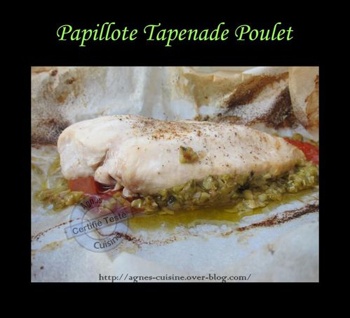 papillote tapenade poulet