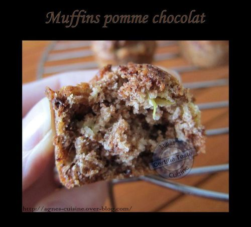 muffin pomme chocolat2