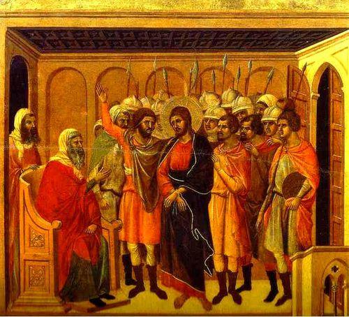 ddb8 Jésus devant le Grand Prêtre Anne