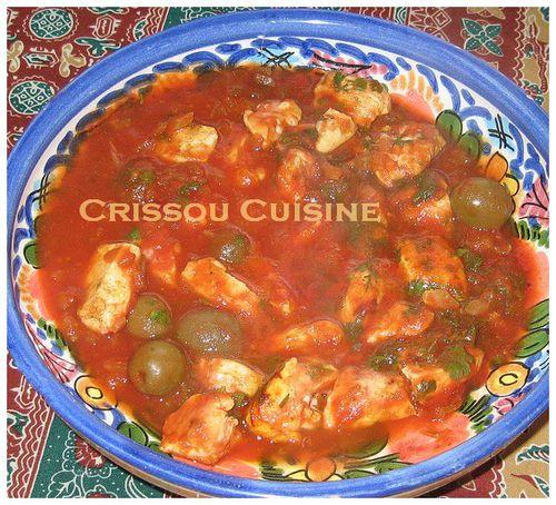 poulet aux épices marocaines