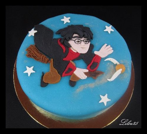 gateau rigolo harry potter les recettes populaires blogue le blog des g teaux. Black Bedroom Furniture Sets. Home Design Ideas