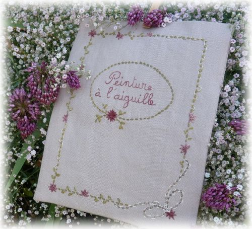 cahier broderie X 1 1