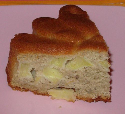 Moelleux pommes, cannelle, beurre salé4
