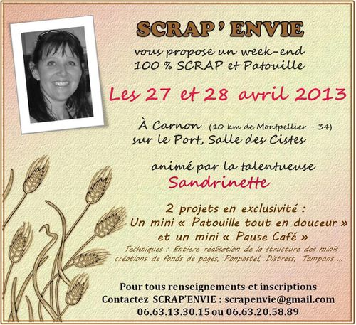 Affiche Crop Sandrinette