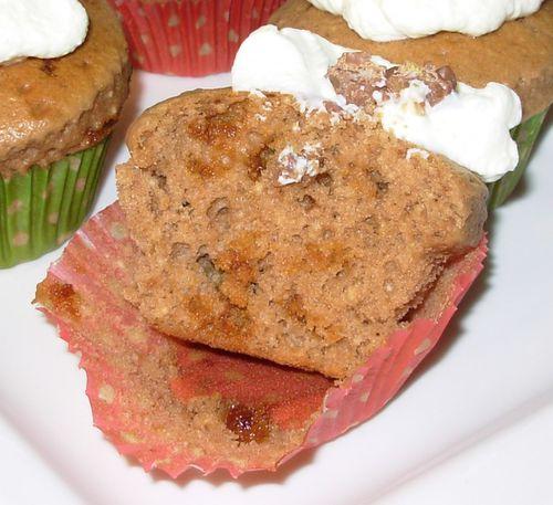 Cupcake milka-daim6