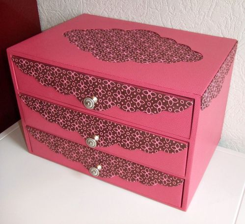 commode rose Marie christine