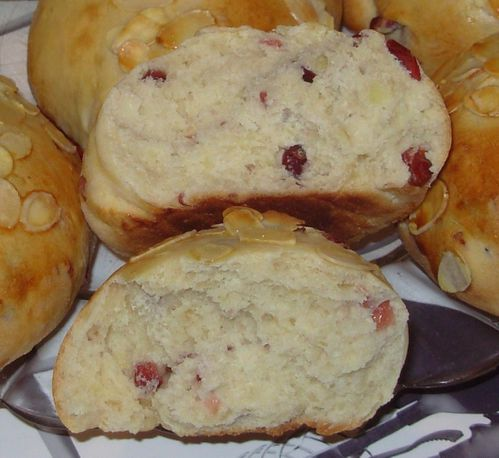 Pains au lait amandes-cranberries5