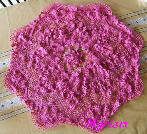 npperon au crochet de Myriam