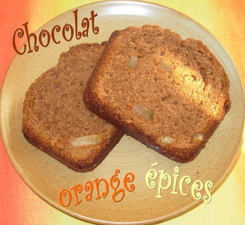 Cake chocolat-orange-épices4