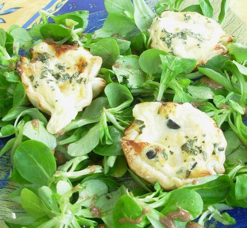 Feuilletés mozzarella-olives noires3