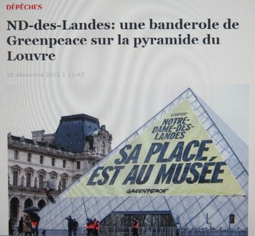 nd des landes comit de quimperl greenpeace au louvre le blog ed environnement do lan. Black Bedroom Furniture Sets. Home Design Ideas