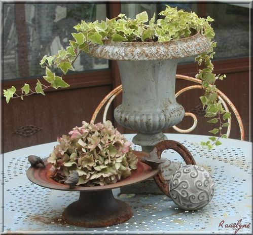 Come back le jardin de roselyne for Deco jardin anglais