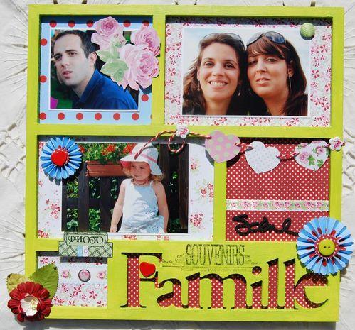 Cadre Famille