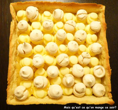 tarte citron meringue faon cyril Lignac