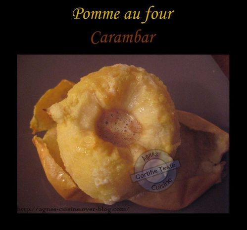 pomme four carambar