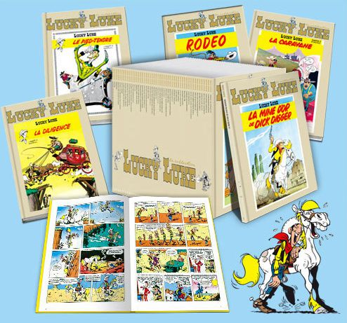 lucky luke en dition collector chez hachette festival