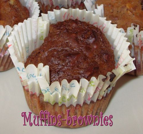 Muffins-brownies aux noix3