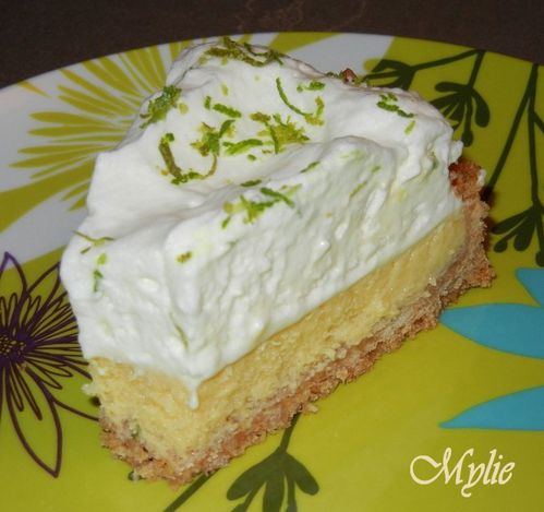 Key lime pie Septembre 2011