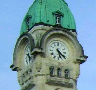 Campanile horloge gare Limoges