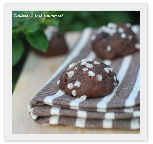 chouquettes chocolat