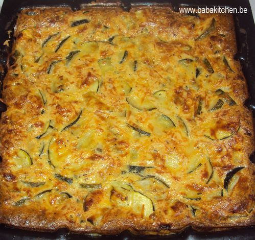 clafoutis courgettes 1