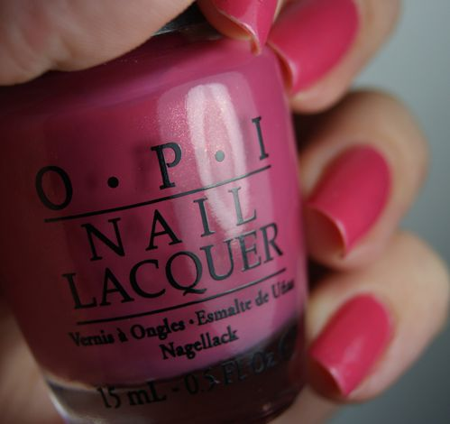 OPI My Adress is hollywood 5