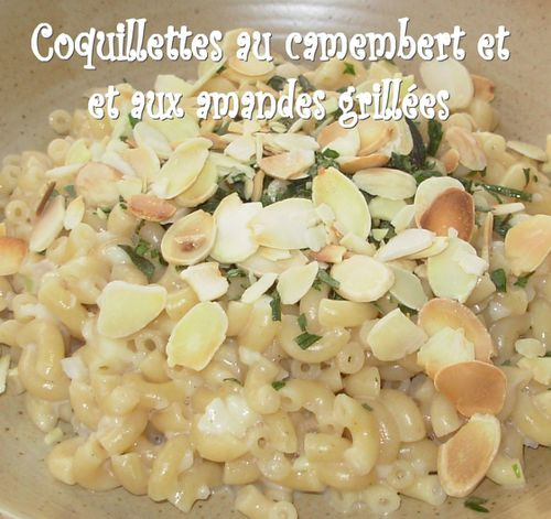 Coquillettes camembert-amandes3