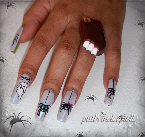 nail art halloween kawaii (3)