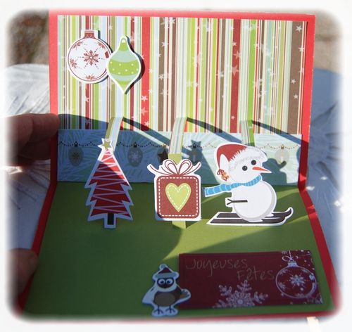Cartes Noël Pop-up Toga 2011 n°2