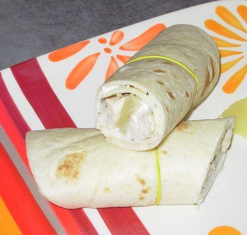 Wrap poulet, ananas, vanille5