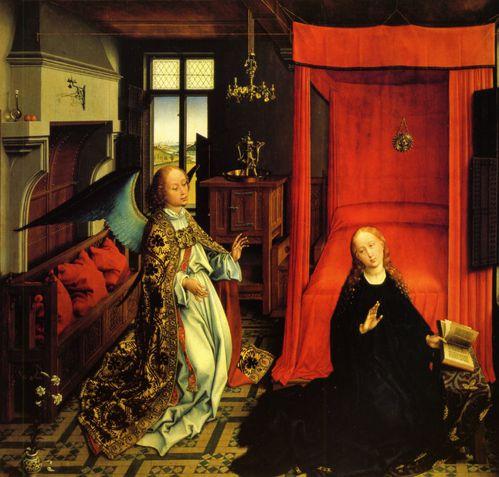 Rogier Van der Weyden Annonciation