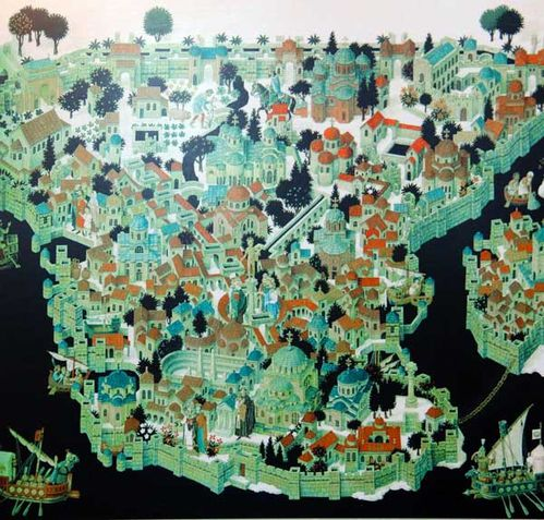863b1b Constantinople au temps des sultans